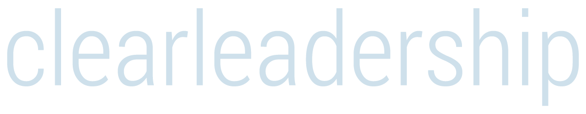 clear leadership stacked logo